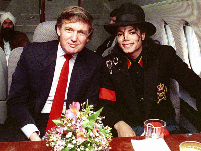 MJ and Trump